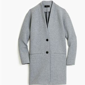 J. Crew 2 Button Drapey Heather Grey Jacket